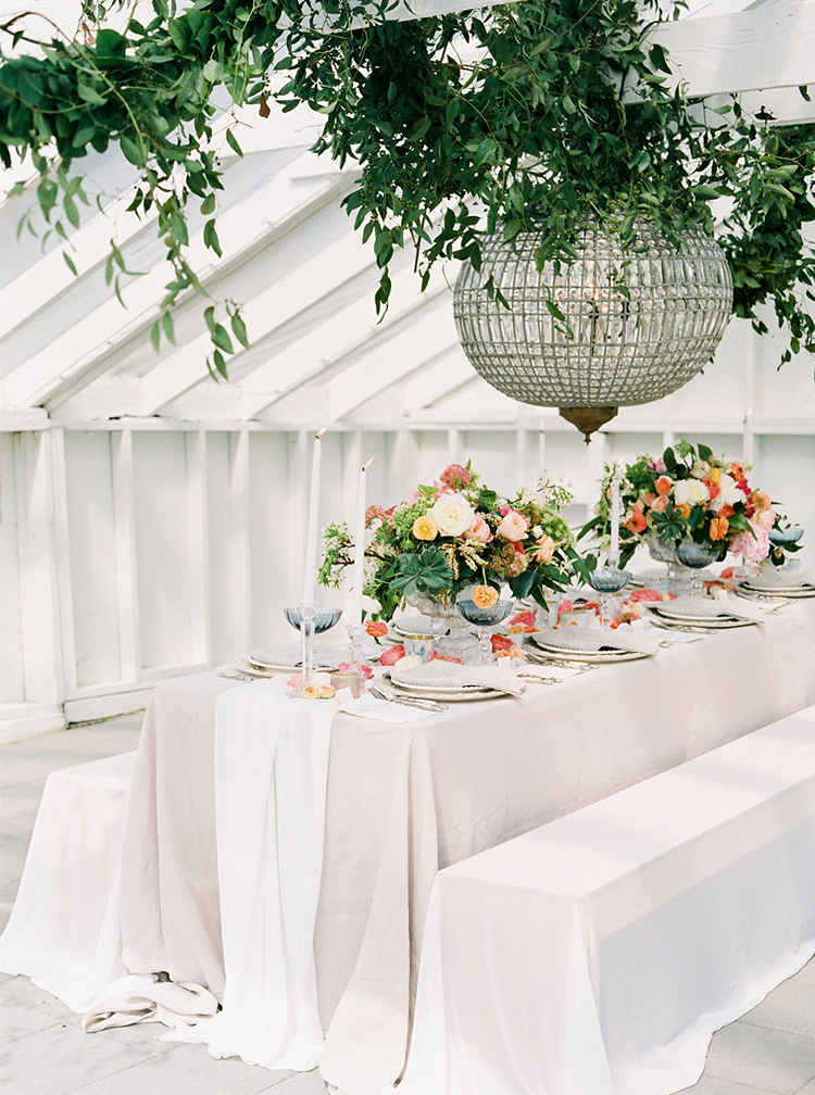 Vibrant Summer Wedding Inspiration with Bridal Fashion - photo by Ali Mae Photo http://ruffledblog.com/vibrant-summer-wedding-inspiration-with-bridal-fashion
