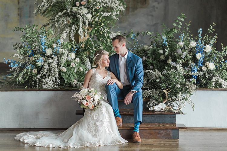 Vintage Bohemia Wedding Ideas with Wow-Worthy Flowers - photo by Chloe Luka Photography http://ruffledblog.com/vintage-bohemia-wedding-ideas-with-statement-floral-arrangements