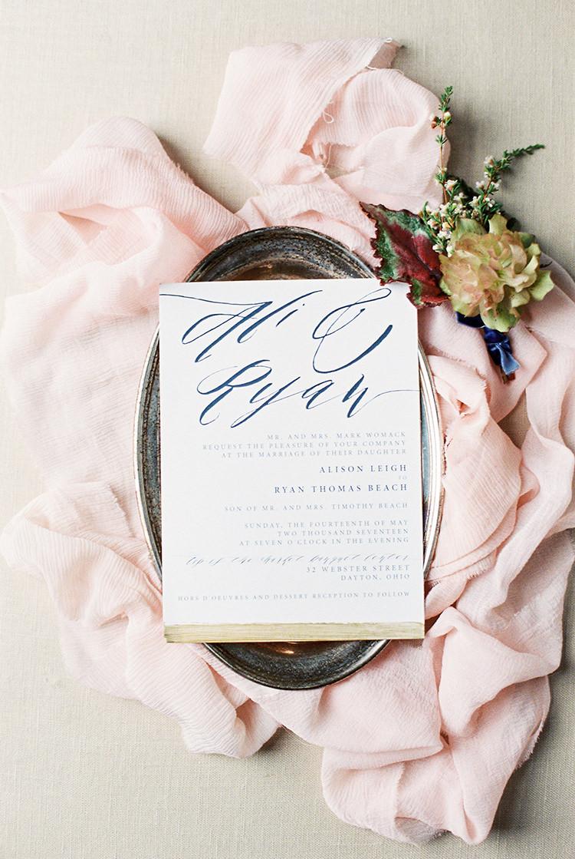 wedding stationery - photo by Chloe Luka Photography https://ruffledblog.com/vintage-bohemia-wedding-ideas-with-statement-floral-arrangements