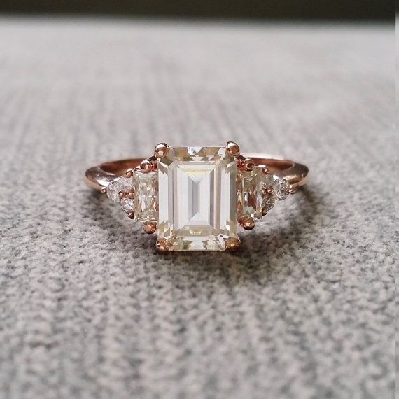 ahh this ring is everything! #engagementrings #vintagerings  https://ruffledblog.com/romantic-vintage-engagement-rings/