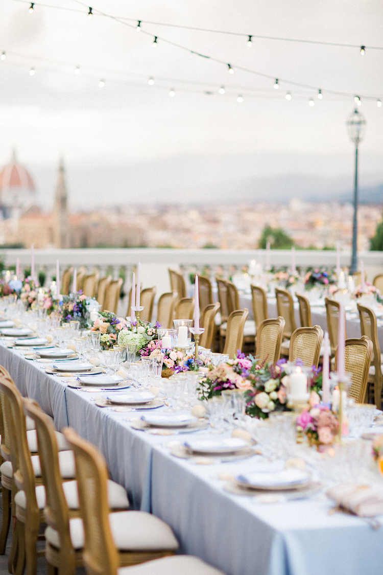 Watercolor Destination Wedding in Florence - photo by Booth Photographics https://ruffledblog.com/watercolor-destination-wedding-in-florence