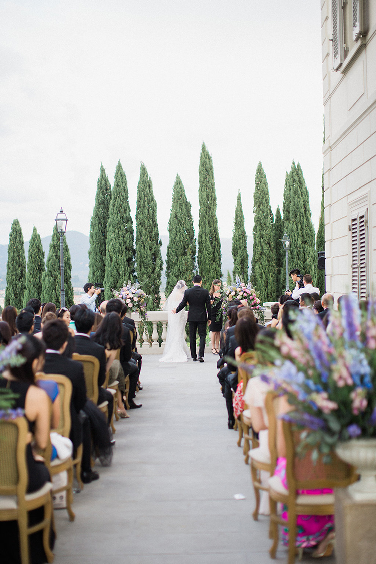 wedding ceremonies - photo by Booth Photographics https://ruffledblog.com/watercolor-destination-wedding-in-florence