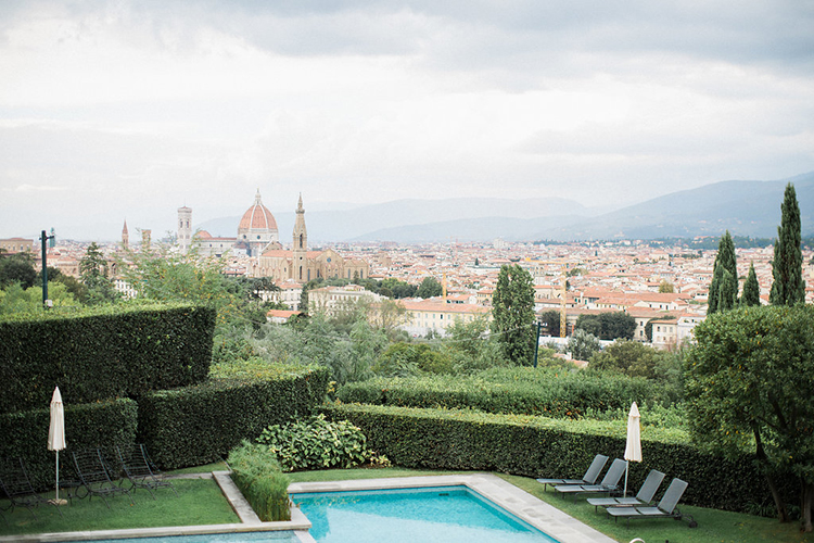Florence wedding venues - photo by Booth Photographics http://ruffledblog.com/watercolor-destination-wedding-in-florence