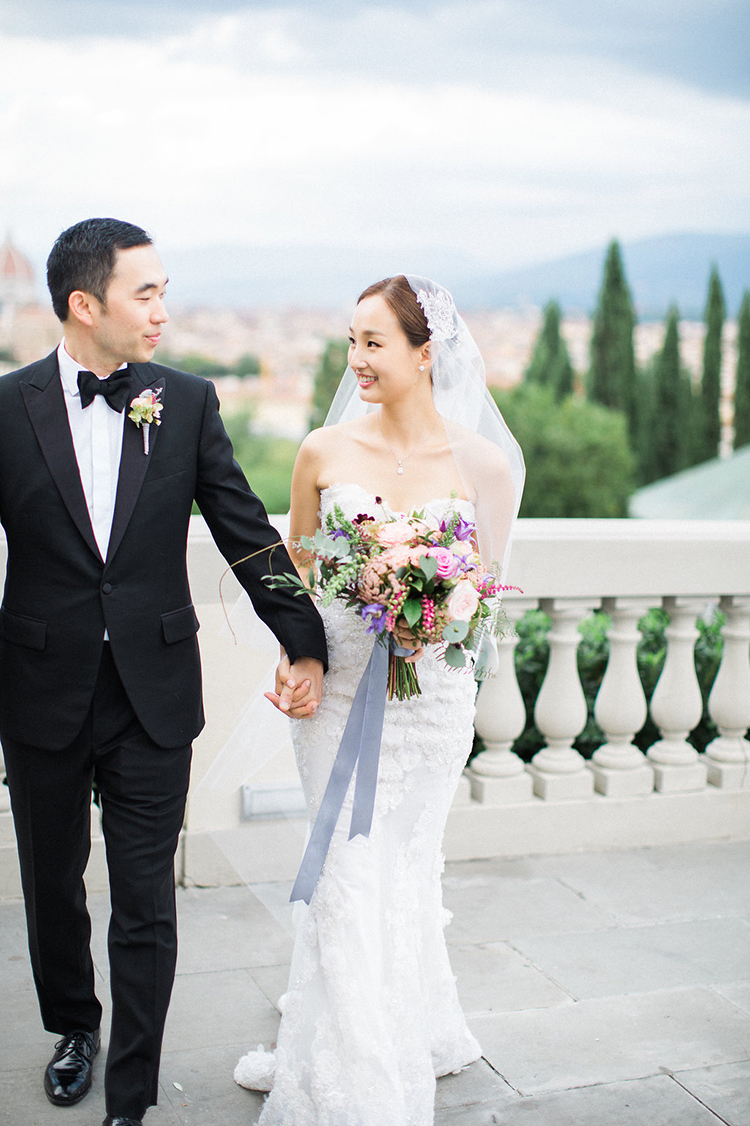 wedding portraits - photo by Booth Photographics http://ruffledblog.com/watercolor-destination-wedding-in-florence