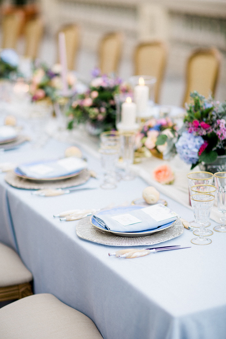wedding tablescapes - photo by Booth Photographics https://ruffledblog.com/watercolor-destination-wedding-in-florence