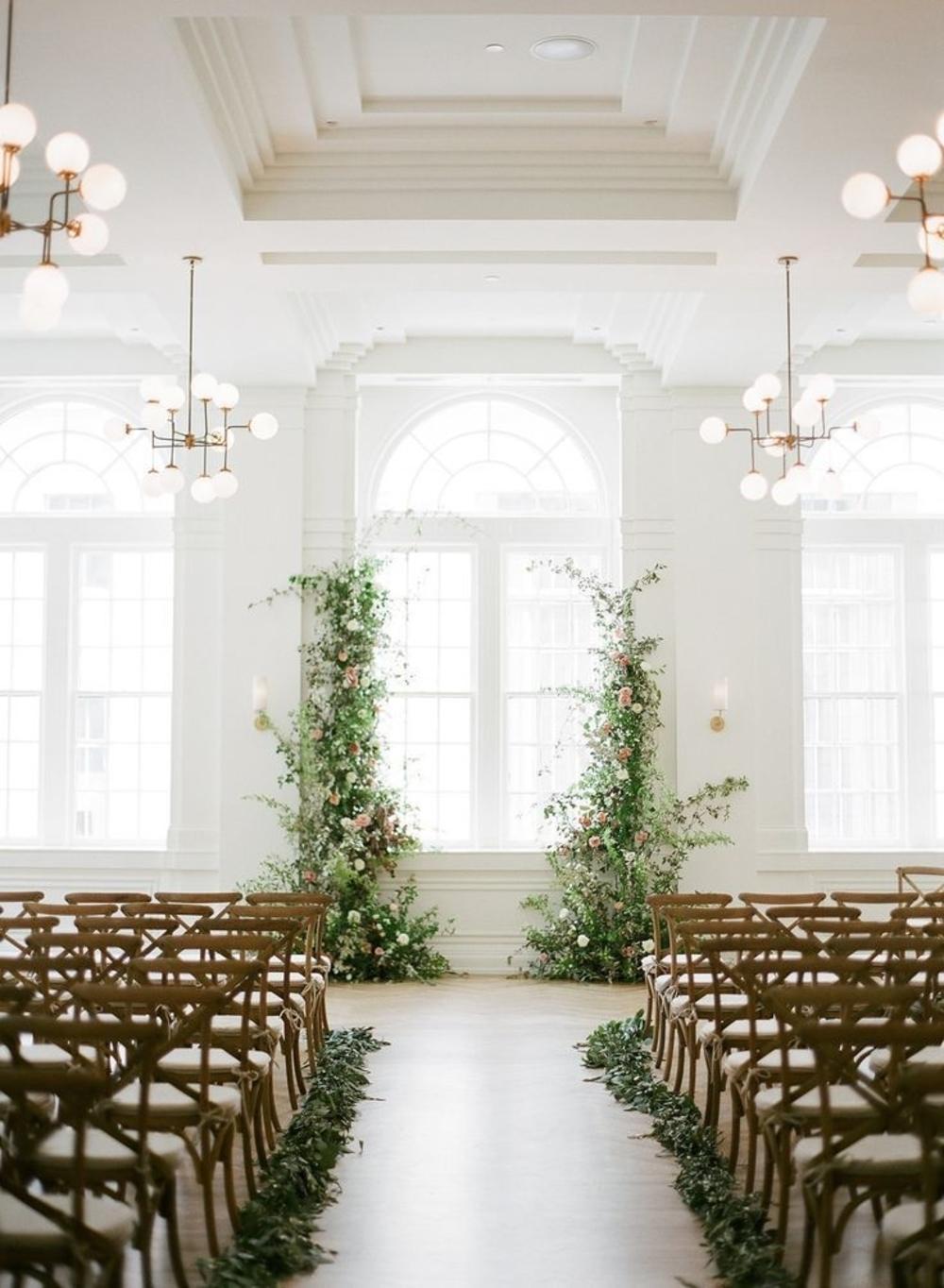 28 Greenery Wedding Decor Ideas Fresh For Spring Ruffled