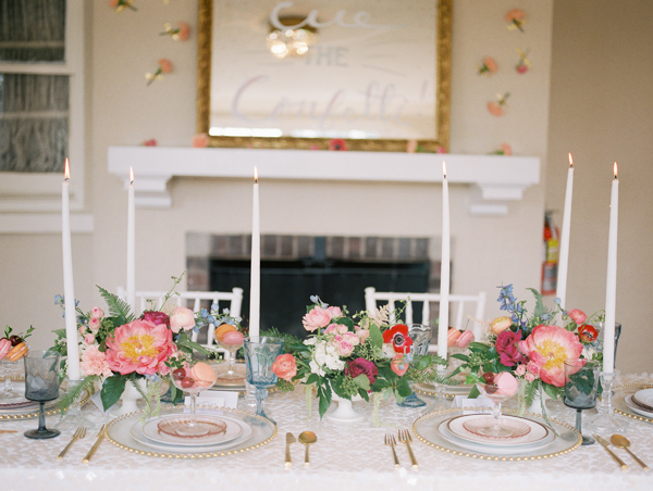 tablescape - photo by Allison Marie Photography https://ruffledblog.com/wedding-inspiration-at-longview-mansion