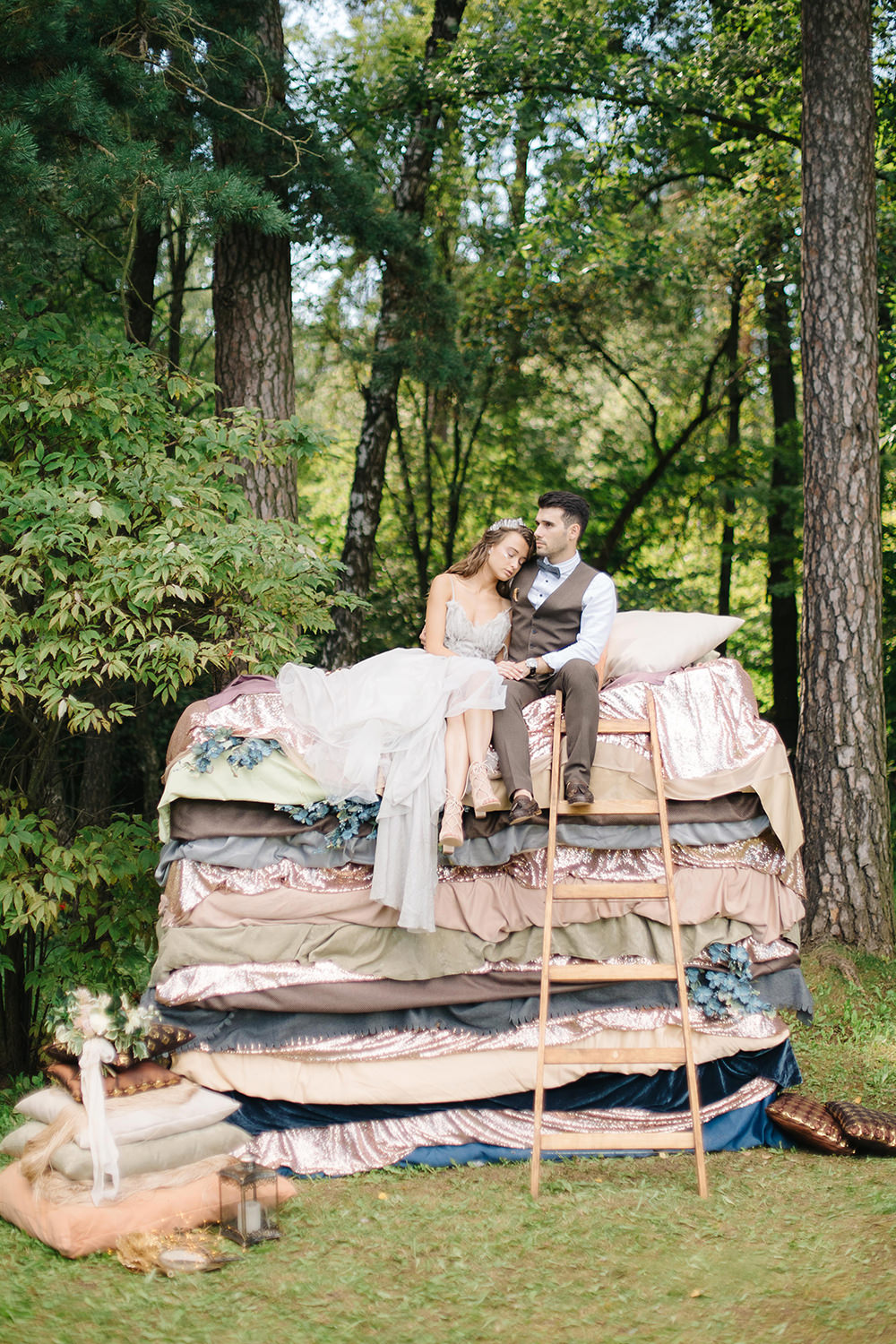 Whimsical fairy tale wedding in russia ruffled junglespirit Image collections