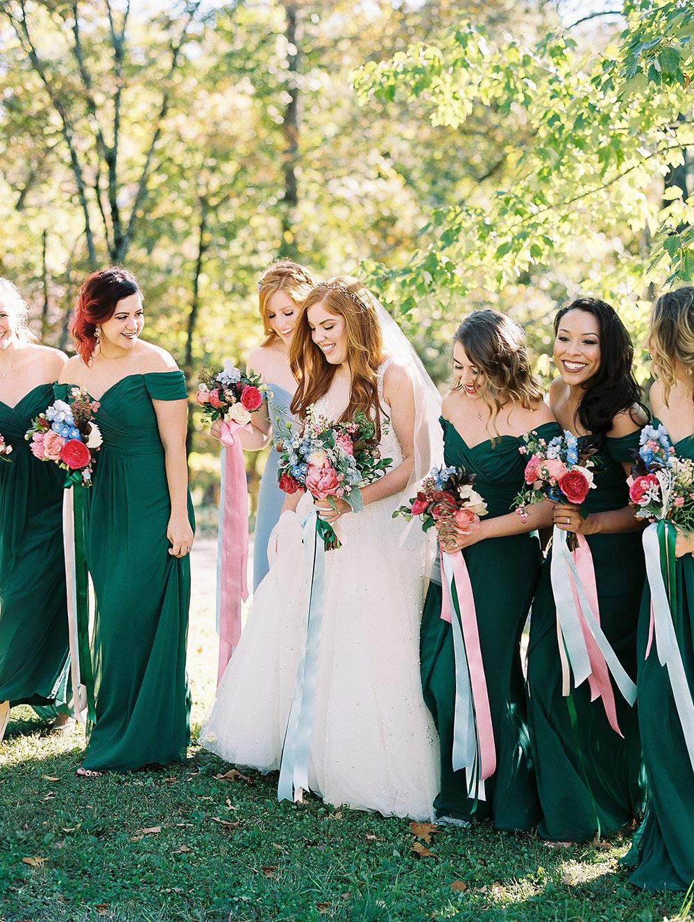 This Enchanting Spring Wedding is a Real Life Fairytale  #whimsicalweddingflowers #modernfairytale #cinderellainspiredwedding