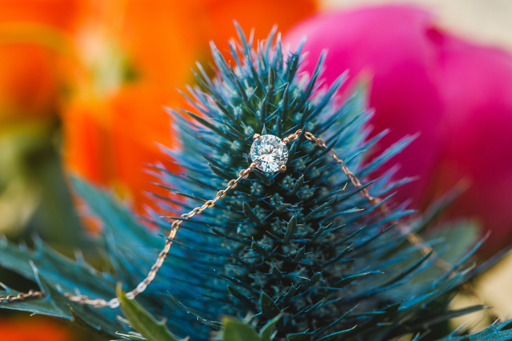 wedding jewelry - photo by Priscila Valentina http://ruffledblog.com/whimsical-vibrant-laguna-beach-wedding