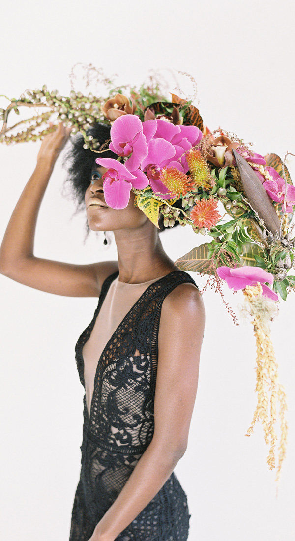 This is Why Tropical is Trending #wedding #weddingflowers #orchids See more: https://ruffledblog.com/why-tropical-is-trending