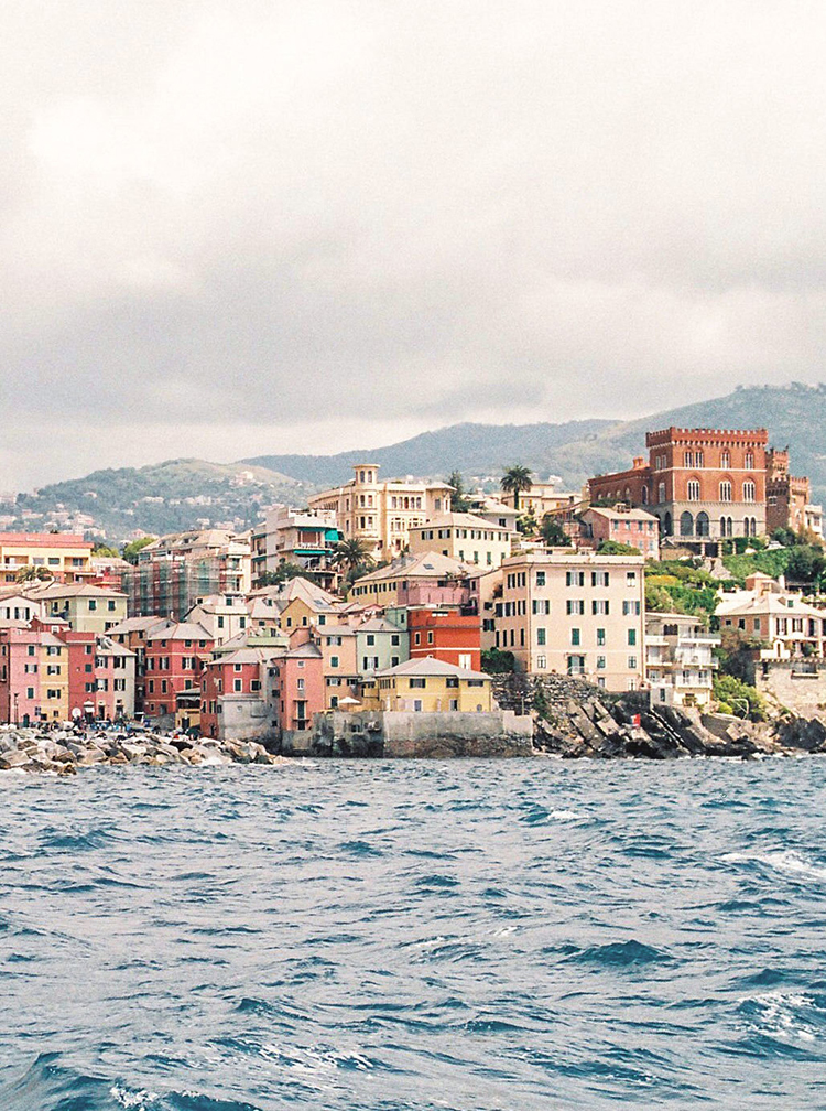 Cinque Terre film photography - photo by Wild Beach Elopement Inspiration at Cinque Terre https://ruffledblog.com/wild-beach-elopement-inspiration-in-cinque-terre