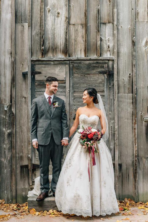 Woodland Christmas Wedding Ruffled