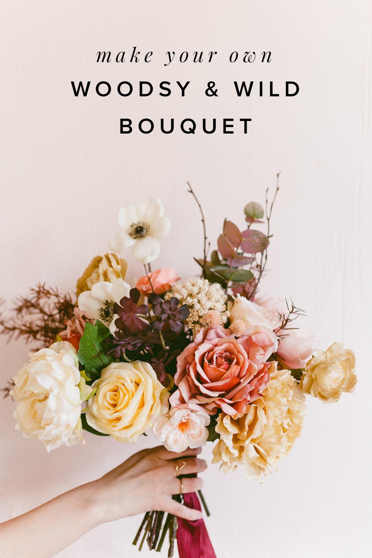 Woodsy Diy Bouquet
